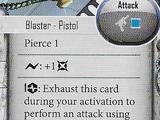 Off-Hand Blaster