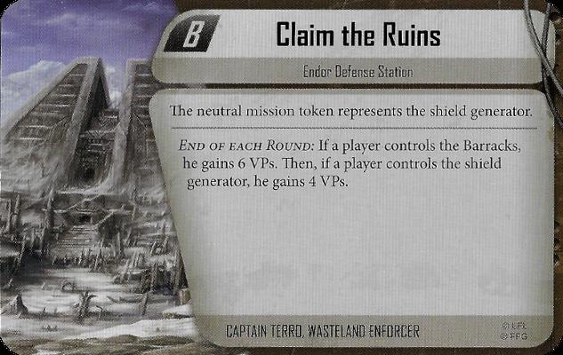 Claim the Ruins