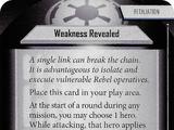 Weakness Revealed