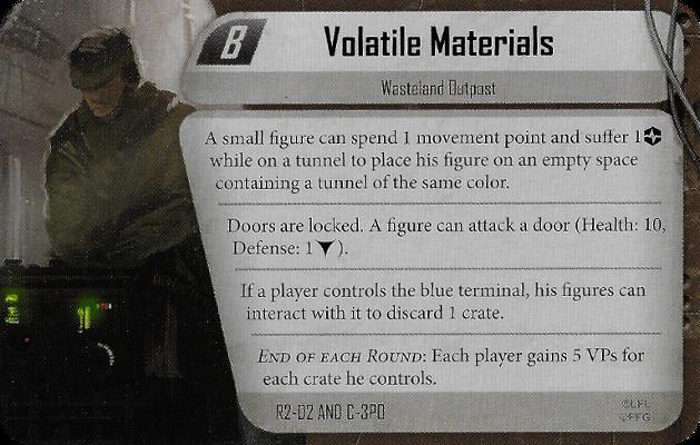 Volatile Materials