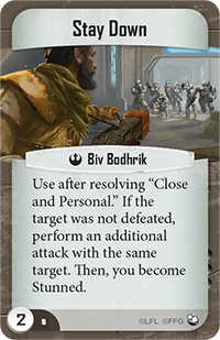 Stay Down (Command Card)