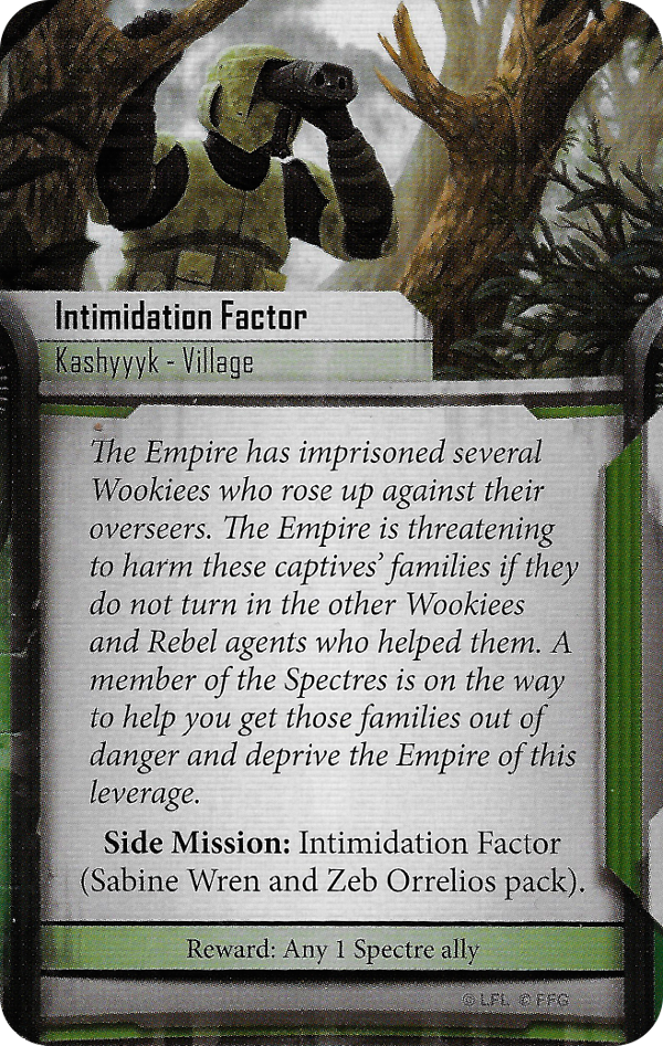 Intimidation Factor