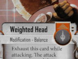 Weighted Head