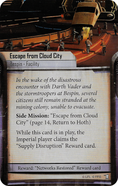 Escape from Cloud City