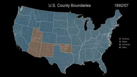 Territorial Evolution of the USA 400 Years of History