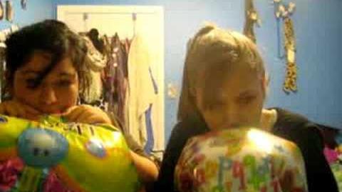 Helium party!