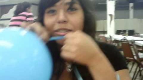 Helium singing Jonas Brothers
