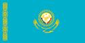 Flag of Democratic state of Hyper-Kazakhstan