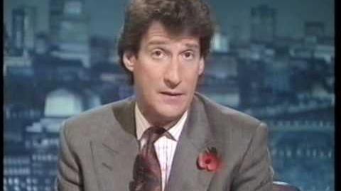 Newsnight 1990 Thatcher leadership challenge