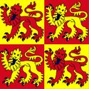 Flag of Gwynedd