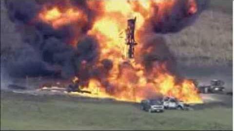 Pipeline Explosion in Texas