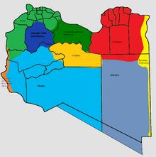 Location of Al Kufra.