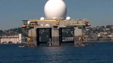 US Navy is deploying the HAARP platform SBX-1 to hit North Korea with earthquakes!!??