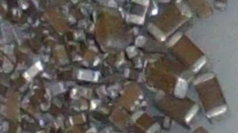 Electronic scrap metals - Palladium recovery from Monolithic Ceramic Capacirors