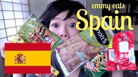 Emmy Eats Spain - tasting Spanish snacks & sweets