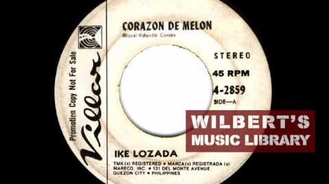 CORAZON DE MELON - Ike Lozada
