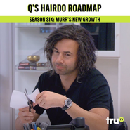 Murr's new hairstyle