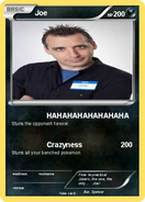 Joe Gatto pokémon card by ImpracticalJokersLover