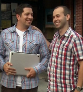 Sal and Murr are happy