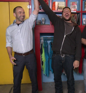 Murr and Sal having fun