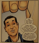 Salvatore Vulcano (comic version)
