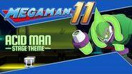 Mega Man 11 OST – Acid Man Stage Theme