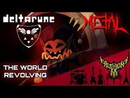 DELTARUNE - THE WORLD REVOLVING 【Intense Symphonic Metal Cover】
