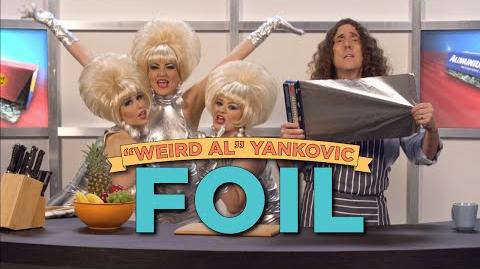 """Exclusive """"Weird Al"""" Yankovic Music Video- FOIL (Parody of """"Royals"""" by Lorde)"""