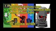 Piercing Lazer - Castle Crashers Necromancer Theme (Simple Sight)