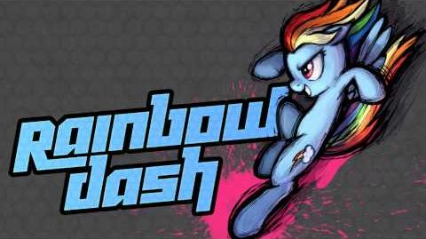 MLP Fighting is Magic - Rainbow Dash Stage Theme