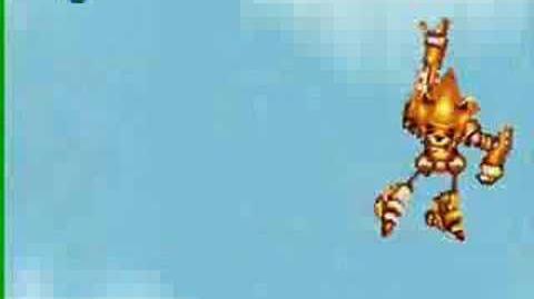 SMBZ Battles Axem Rangers X VS Semi-Super Mecha Sonic