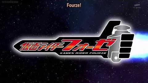 Kamen Rider Fourze - Opening