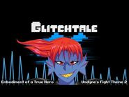 Glitchtale OST - Embodiment of a True Hero -Remastered- -Undyne's Fight Theme 2-