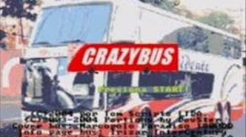 Crazy Bus Title Screen