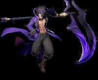 Gordeau the Harvester (BlazBlue Cross Tag Battle, Character Select Artwork)
