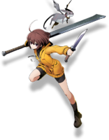 Linne (BlazBlue Cross Tag Battle, Character Select Artwork)