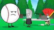 S2e13 Baseball, Knife and Fan