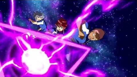 Inazuma Eleven GO VS Danball Senki W (イナズマイレブンGO vs ダンボール戦機W) Last Death Zone (ラストデスゾーン) HD
