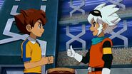 Arion and Saru talking