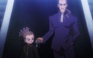 Kageyama giving Kidou his goggles HQ