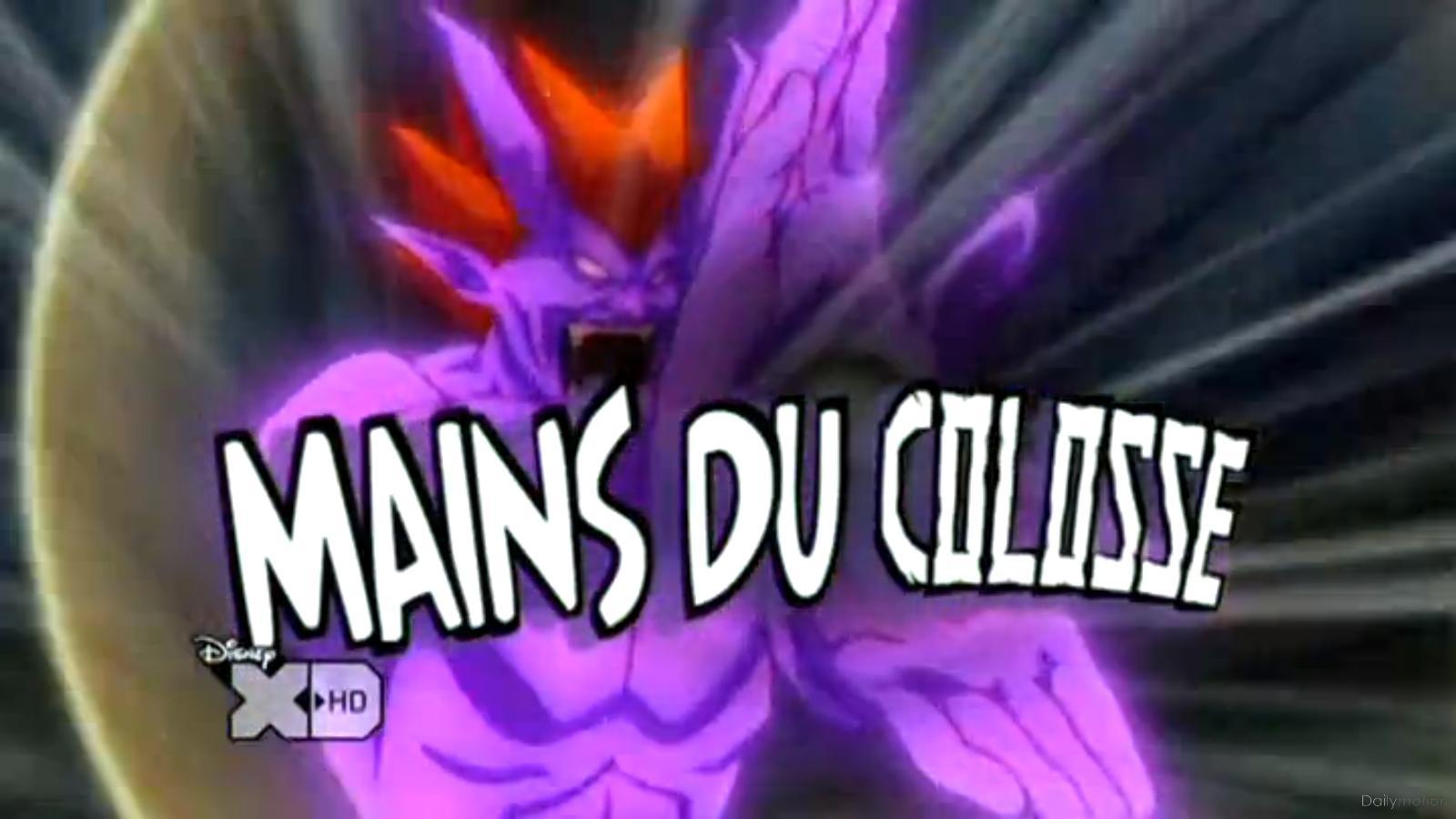 Mains du Colosse
