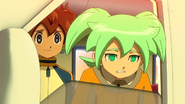 Fei and Tenma crying...