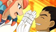 Jade en colere face a Ryoma