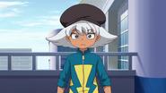Hiyori in his Raimon jacket