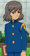 Riccardo in school uniform