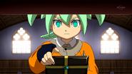 Fei stealing Endou's Chrono Stone CS 47 HQ