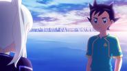 Yurika's talking to Asuto
