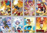 Inazuma Eleven AC - Cartes