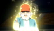 Daisuke returning to his world