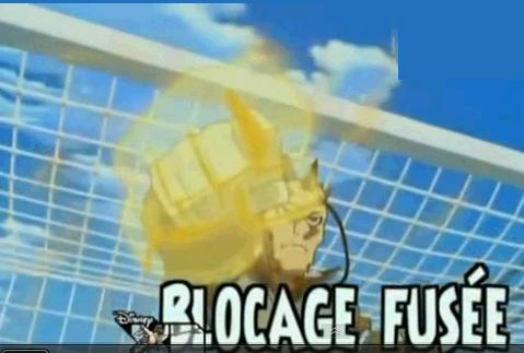 Blocage Fusée